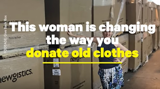 The Give Back Box Allows You To Donate Old Clothes From Home | NowThis