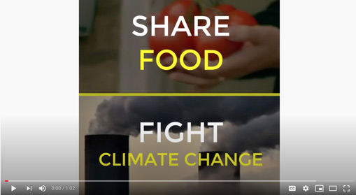 Share food, fight climate change