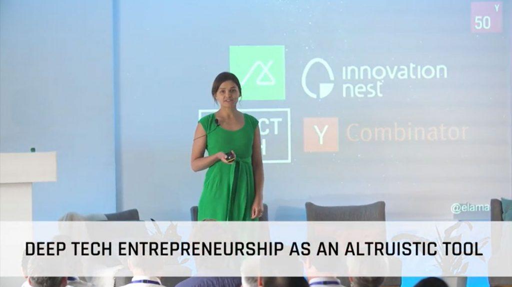 Deep Tech: Altruistic Tool? | Ela Madej, Fifty years VC