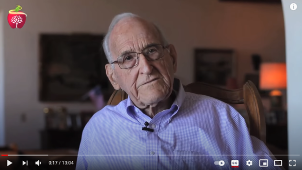 Dr. Ellsworth Wareham – 98 years old vegan